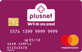 Plusnet Reward Card